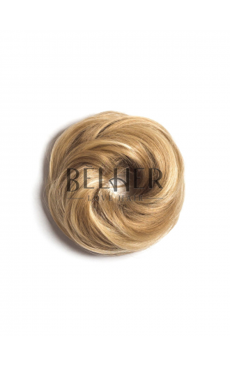 Mix Blond Cenusiu Elastic Din Par