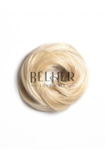 Blond Platinat Elastic Din Par