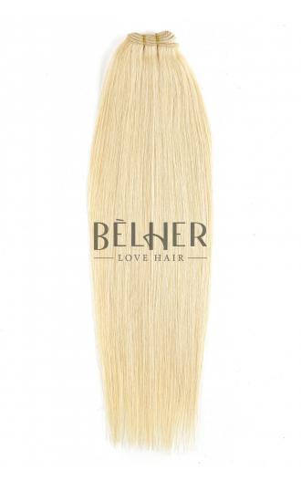 Extensii Cusute Premium Blond Platinat