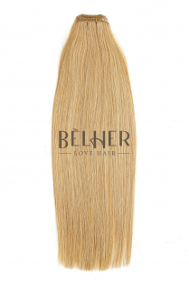 Mix Blond Auriu Extensii Cusute