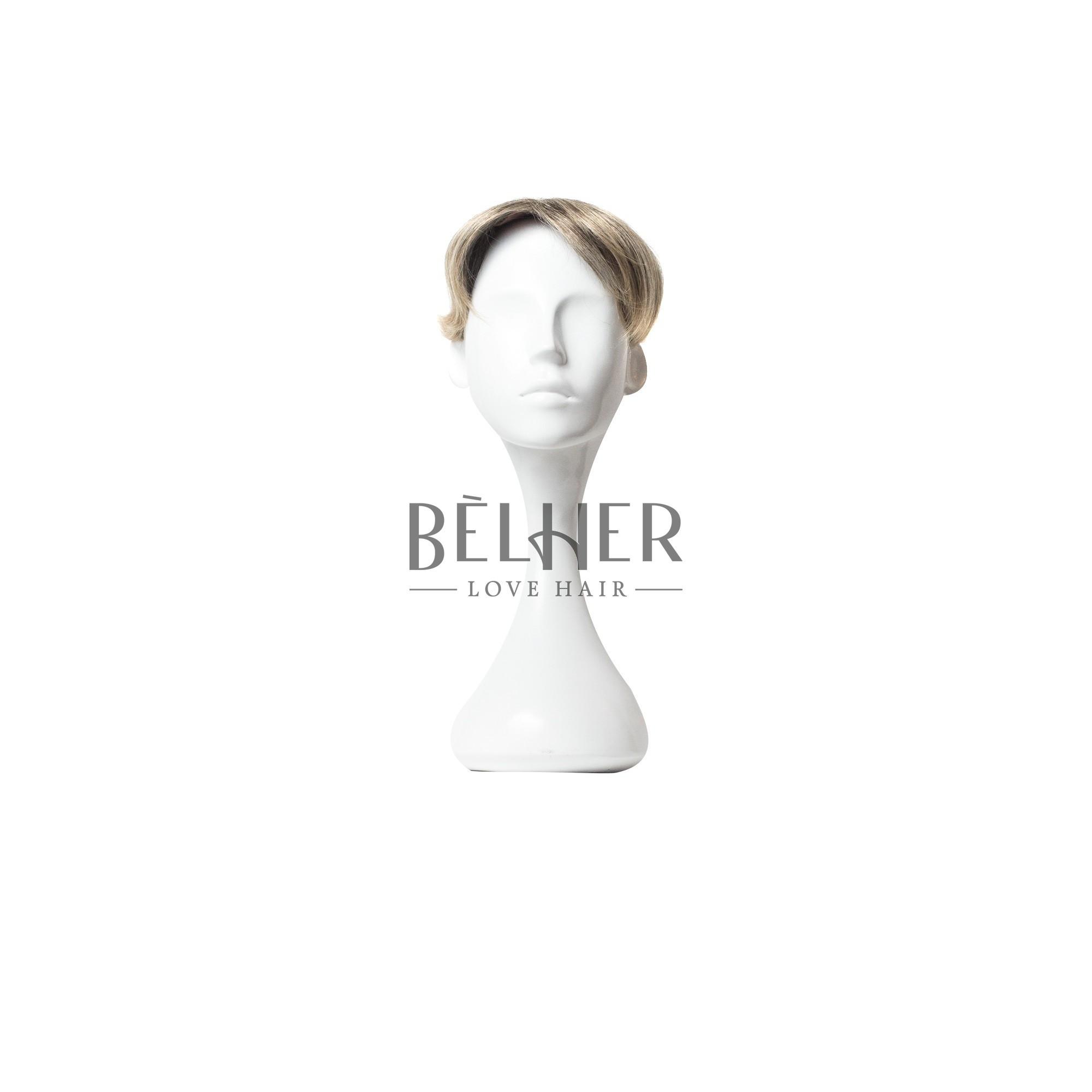 Peruca Partiala Clip-On Mix Saten Blond