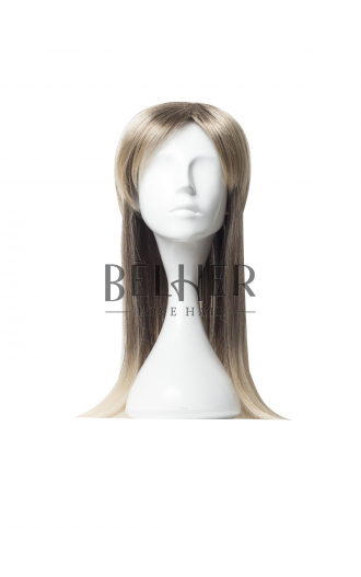 Peruca Partiala Clip-On MIx Blond Cenusiu