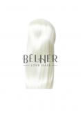 Blond Alb Peruca Partiala Clip-On