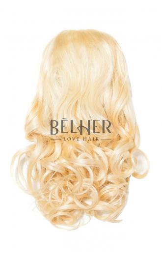 Coada Ondulata Cleste Par Natural Blond Deschis