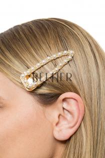 Clame Par Perle si Cristale Ascutit 8 cm