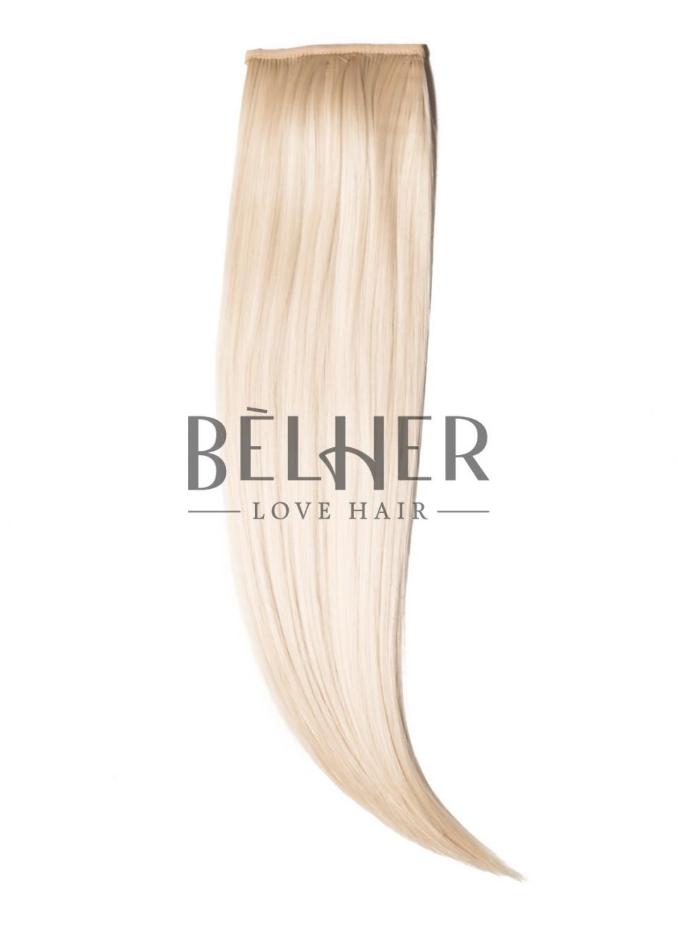 Extensii De Par Coada Din Par Sintetic Drept Blond Deschis