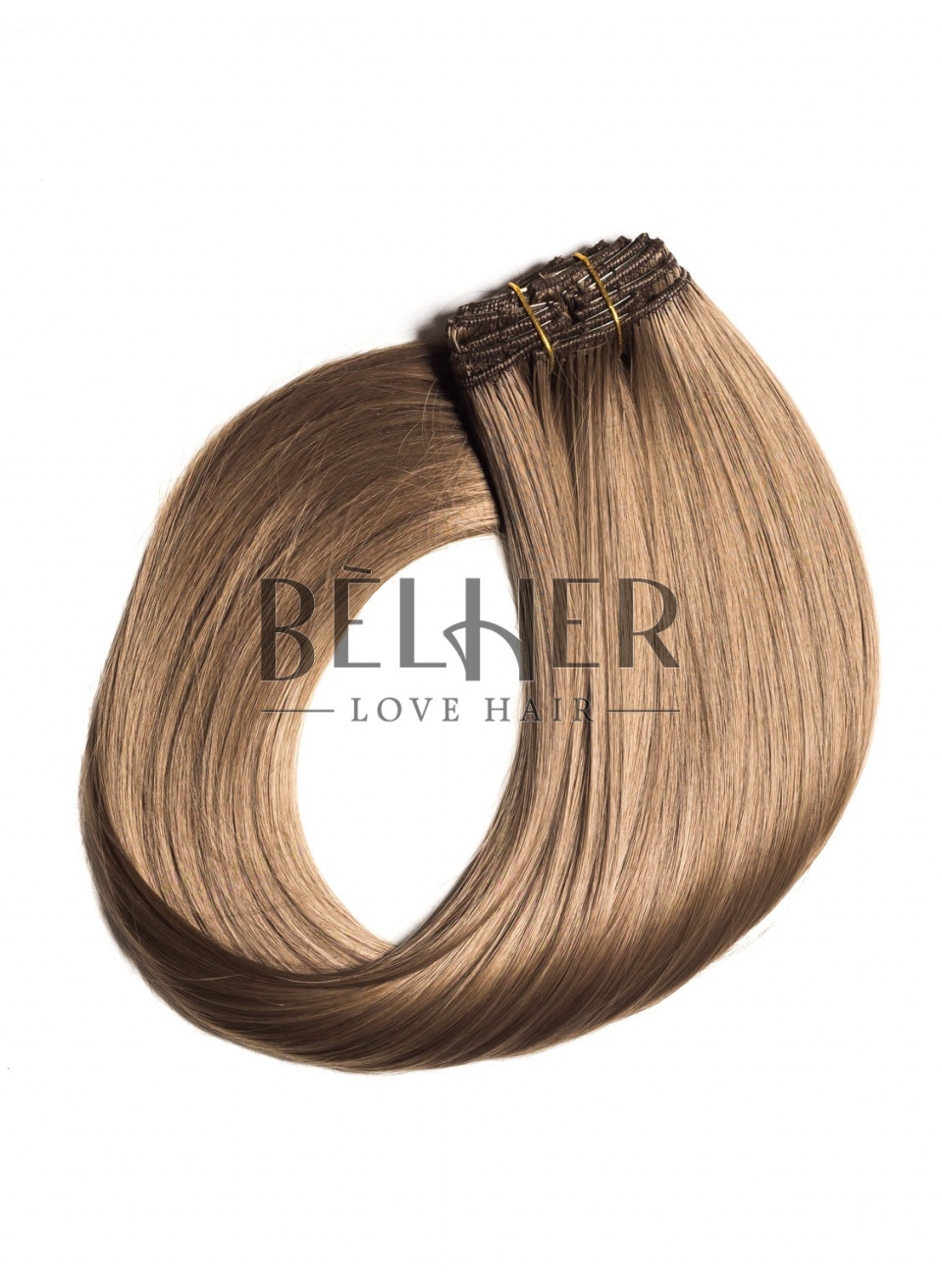 Blond Aluna Extensii Clip-On