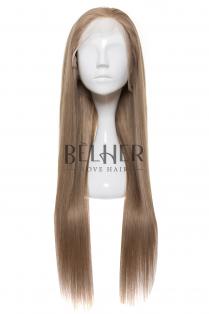 Peruca Naturala Alessia Blond Cenusiu
