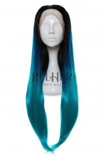 Peruca Otilia Ombre Blue Teal