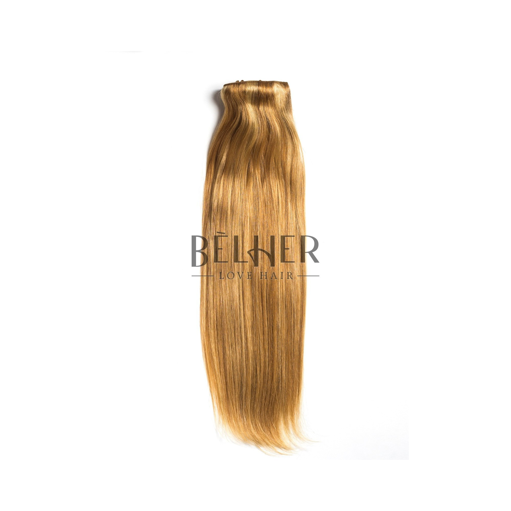 Extensii Clip-On Deluxe Mix Blond Auriu