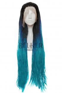 Peruca NYAH Ombre Blue-Teal