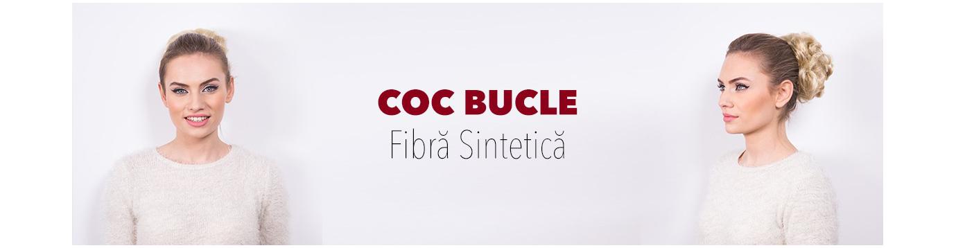 Coc din par sintetic ondulat – Coc cu bucle | BELHER